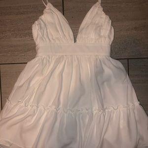 PLT White Dress